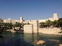 De gebouwen van Doubai Stock Afbeeldingen