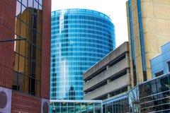 De gebouwen van Grand Rapids stock fotografie