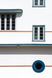 De gebouwen van het art deco Stock Foto's