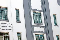 De gebouwen van het art deco Royalty-vrije Stock Foto
