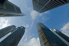 De gebouwen van het bureau Stock Foto