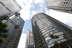 De gebouwen van het bureau Stock Afbeelding