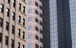 De gebouwen van het bureau Stock Foto's