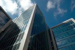 De gebouwen van het bureau Stock Fotografie