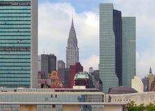 De gebouwen van het bureau Royalty-vrije Stock Foto's