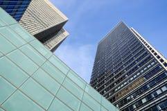 De Gebouwen van het bureau in Londen. Royalty-vrije Stock Foto