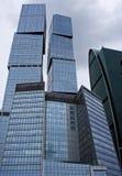 De gebouwen van het bureau - moderne architectuur Royalty-vrije Stock Afbeeldingen