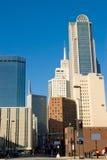 De gebouwen van het Bureau van Dallas Stock Afbeeldingen