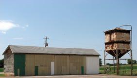De Gebouwen van het landbouwbedrijf Stock Foto's