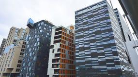 De Gebouwen van het de Stadscentrum van Oslo Royalty-vrije Stock Foto