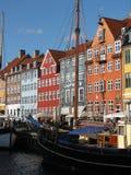 De gebouwen van Kopenhagen stock afbeelding