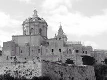 De gebouwen van Malta Stock Fotografie