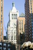 De gebouwen van New York Stock Fotografie