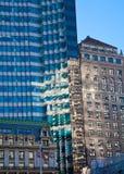 De Gebouwen van New York Stock Foto