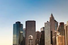 De Gebouwen van New York Royalty-vrije Stock Afbeelding