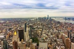 De Gebouwen van New York Royalty-vrije Stock Foto