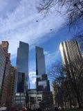 De Gebouwen van New York Stock Afbeelding