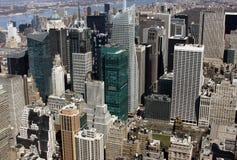 De gebouwen van New York Royalty-vrije Stock Foto's