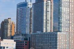 De gebouwen van New York Manhattan Stock Fotografie