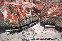 De gebouwen van Praag Royalty-vrije Stock Foto's