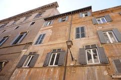 De gebouwen van Rome Stock Afbeeldingen