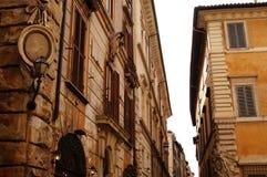 De gebouwen van Rome, Italië Royalty-vrije Stock Foto's
