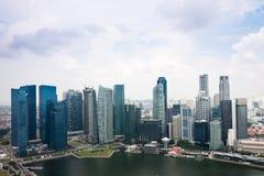 De Gebouwen van Singapore Stock Afbeelding