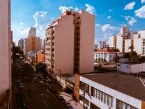 De gebouwen van de stad van são Paulo Royalty-vrije Stock Foto