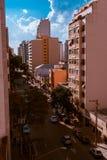 De gebouwen van de stad van são Paulo Royalty-vrije Stock Afbeelding