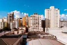 De gebouwen van de stad van são Paulo Royalty-vrije Stock Foto's
