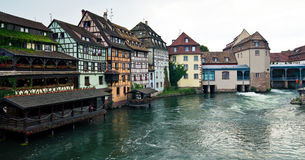 De gebouwen van Straatsburg royalty-vrije stock afbeeldingen