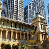 De gebouwen van Sydney, oud en nieuw Stock Foto's