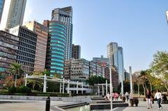 De gebouwen van Tsimsha Tsui Tall Royalty-vrije Stock Fotografie