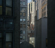 De Gebouwen van Verticle Stock Afbeeldingen