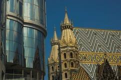De gebouwen van Wenen royalty-vrije stock afbeeldingen
