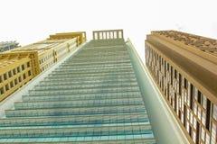 De gebouwenachtergrond van Doubai Royalty-vrije Stock Fotografie