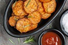De Gebraden gerechten van de Bataat Royalty-vrije Stock Foto's