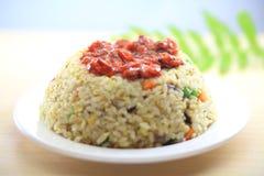 De Gebraden rijst van Japan zeevruchten Royalty-vrije Stock Afbeelding