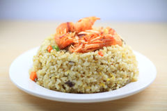 De Gebraden rijst van Japan zeevruchten Royalty-vrije Stock Fotografie