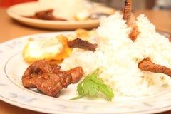 De gebraden rijst van Thailand stijl Royalty-vrije Stock Afbeelding