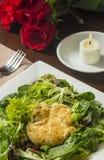 De gebraden salade van de geitkaas Royalty-vrije Stock Afbeelding