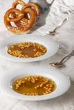 De gebraden soep van de beslagparel royalty-vrije stock foto