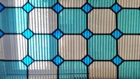 de gebrandschilderd glasvensters Venster royalty-vrije stock foto