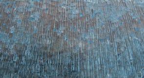 De gebroken blauwe achtergrond van het kristalglas Royalty-vrije Stock Foto