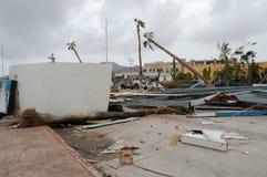 De gebroken bouw Stock Foto