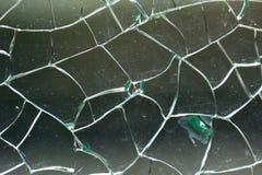 De gebroken Textuur van het Glas Royalty-vrije Stock Fotografie