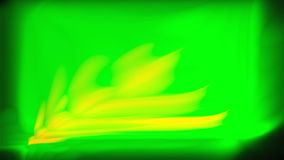 DE-geconcentreerde abstracte golvende 3d geeft met mist en lijnen voor ontwerp terug, abstracte achtergrondgradi?ntgolven stock illustratie