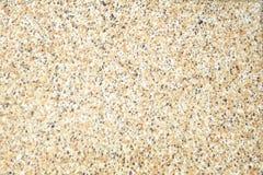 De gedetailleerde oude achtergrond van de terrazzo naadloze textuur, natuurlijke patronen opgepoetste steenvloer stock foto's