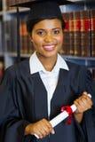 De gediplomeerde van de wetsschool royalty-vrije stock foto