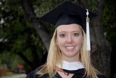 De Gediplomeerde van het doctoraal Stock Fotografie